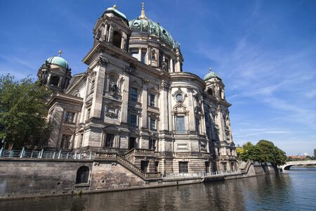 or spree: Berliner Dom and the river Spree in Berlin, Germany. Editorial