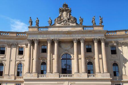 alte: Alte Bibliothek of the Humboldt University law faculty in Berlin, Germany. Editorial