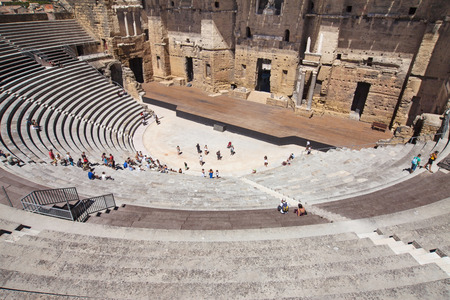 teatro antiguo: Roman Theatre of Orange, France.