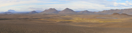 moonscape: Moonscape in the Iceland highlands.