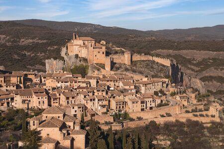 aragon: Medieval village of Alquezar, Huesca province, Aragon, Spain.