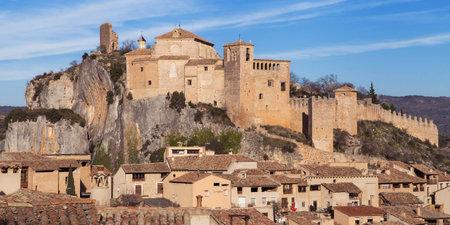 aragon: Castle of Alquezar, Huesca province, Aragon, Spain.
