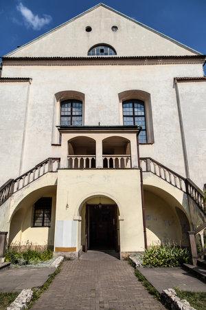 synagogue: Isaac Synagogue in Kazimierz, Krakow, Poland. Editorial