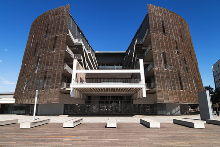 biomedical: Building of the Biomedical Research Park of Barcelona, Catalonia, Spain. Editorial