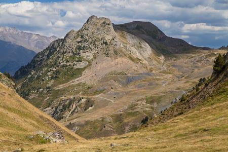 Campo de Troya Peak in the Tena Valley, Pyrenees of Huesca, Spain.