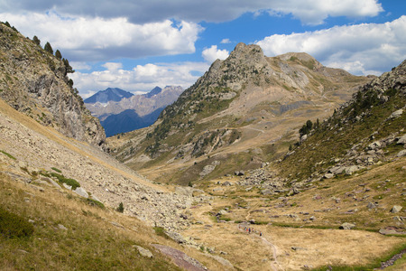 Anayet Valley in the Pyrenees of Huesca, Spain.