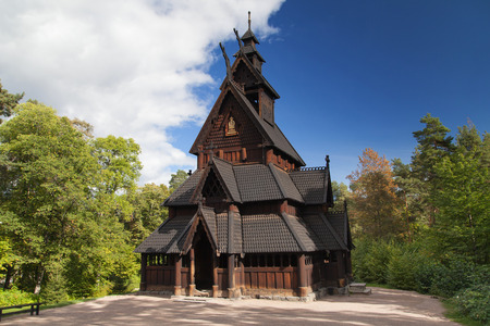 Gol Stave Church in Olso, Norway.