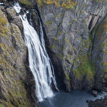 hardanger: Voringsfossen in Eidfjord, Hordaland, Norway.