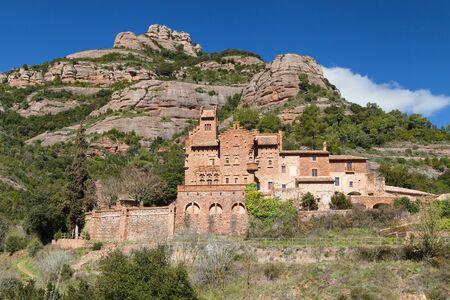 Modernist Masia of Marquet de la Roca in Sant Llorenc Savall, Barcelona province, Catalonia.