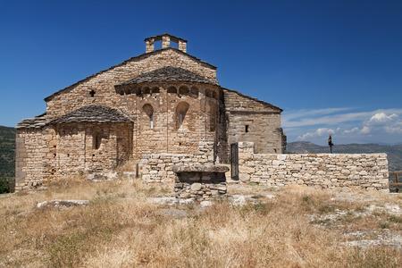 Collegiate Church of Mur in Castell de Mur, Lleida, Catalonia.