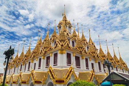 Loha Prasat in Bangkok, Thailand.