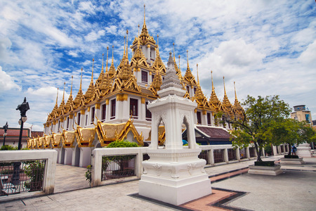 Temple of the Royal Niece in Bangkok, Thailand.
