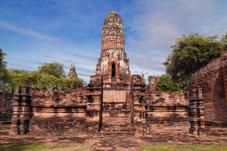 Wat Phra Ram in Ayutthaya, Thailand.