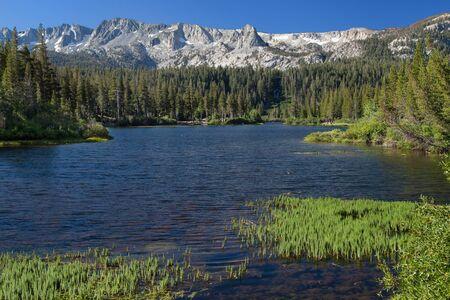 Twin Lakes Vista, Mammoth Lakes, Mono County, California, USA.