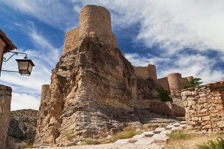 Castle of Albarracin, Teruel, Spain.