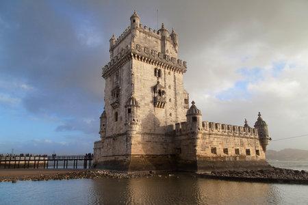 Torre de Belem in Lisbon, Portugal.