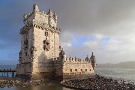 Tower of Saint Vincent in Lisbon, Portugal. Sajtókép