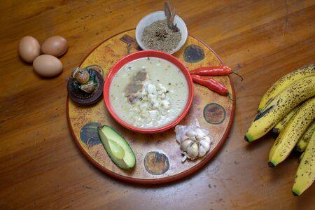 ecuadorian traditional cow leg soup