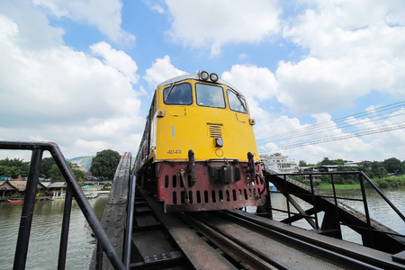 Trains on the River Kwai