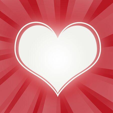 White Heart  photo