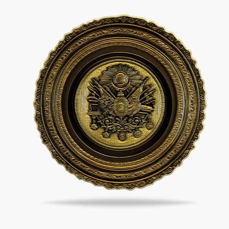 ottoman: Ottoman table Stock Photo