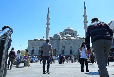 eminonu: Turkey Istanbul Eminonu mosque