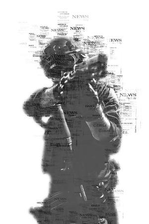 special forces soldier police, swat team member Banque d'images