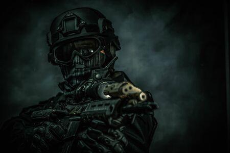 swat team members , special forces spec ops
