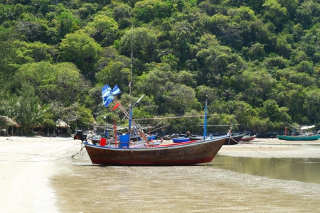 thai s fishing boat photo