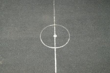 Centre Of Futsal Field photo