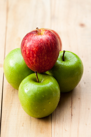 Fresh apple fruits photo