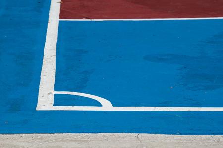corner Of Futsal Field photo