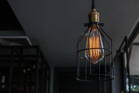 interior lighting: Beautiful retro luxury interior lighting lamp decor