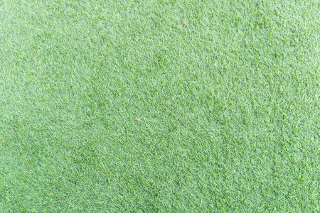 above view   green artificial grass