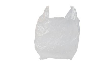 Plastic Bag Isolated On White Background and have clipping path