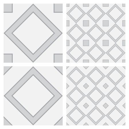 Square Shaped Surface as Seamless  Background Stock Vector - 18819846