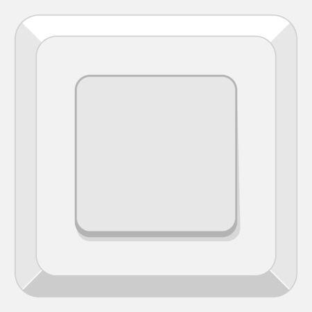 Power Switch on grey background
