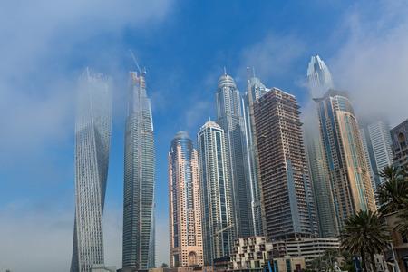 famous industries: Urban architecture in Dubai, United Arab Emirates