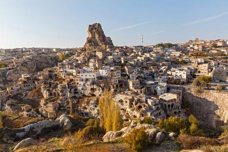Cappadocia, view of the old city, Turkey