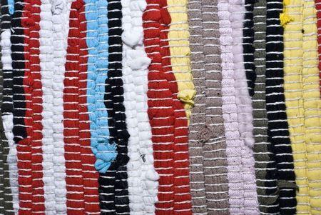 tela algodon: pa�o de algod�n de mallas de colores