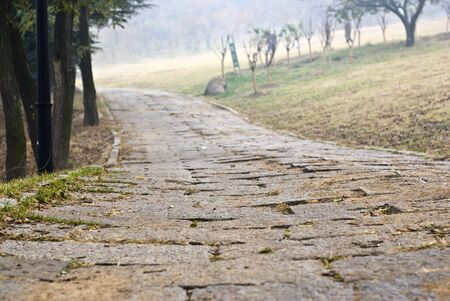 stone path outdoor Stock Photo - 5946043
