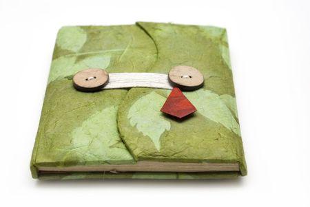 hand made notebook Stock Photo - 6168363