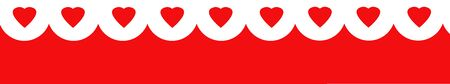 abstract hearts patterns with red background Stock Photo - 6223833
