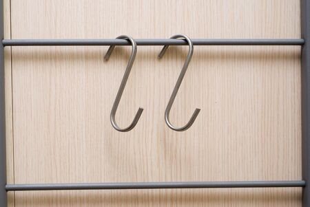 two object: hanger metal hooks for furnitures