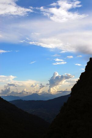 sky and cloud landscapes of himalayas Stock Photo - 6358053