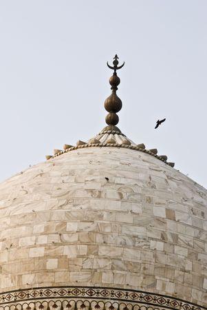 love dome:  Taj Mahal building details at agra,Uttar Pradesh,india Stock Photo