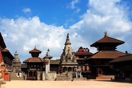 Patan Durbar Square at Kathmandu, Nepal Stock Photo