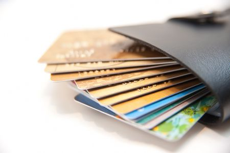 Too Much Credit Card In Wallet Stock Photo - 7775302