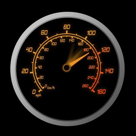 High Speeding – The Red Line  Stock Photo - 7746055