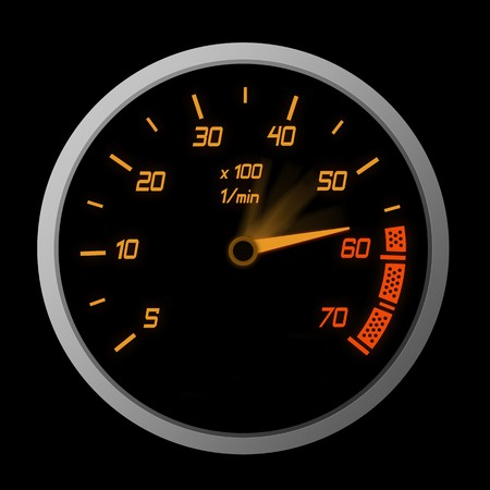 High Speeding – The Red Line Stock Photo - 7746056